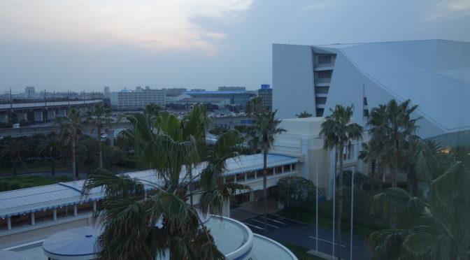 宿泊したディズニーアンバサダーホテル スタンダードフロア スタンダードルームの位置と眺め